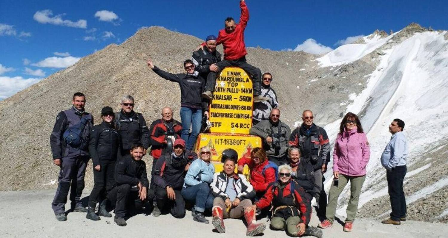 Motorcycle Tour In Himalayas & Cultural Ladakh